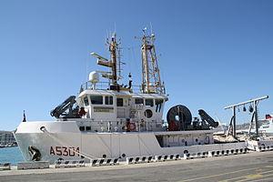 Italian ship Leonardo (A5301) - Leonardo
