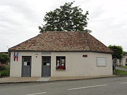 Les Mées (Sarthe) mairie.jpg