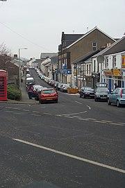 Lewis Street, Aberaman the main shopping district of the village