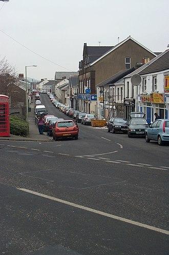 Aberaman - Image: Lewis Street Aberaman