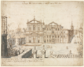 Lieven Cruyl - Eighteen Views of Rome- The Church of Santa Maria in Vallicella, 1665.tiff