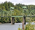 Lift span of Chandler Bridge on Coos River Highway (2011).jpg