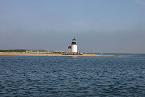 Brant Point Light - Image: Light house at Brant point in Nantucket harbor