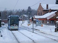Lilleaker tram winter.jpg