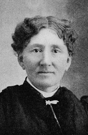 Solomon Butcher - Lillie Butcher, ca. 1901