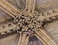 Lincoln Cathedral, Angel Choir Roof Boss, 18th from East (38956092324).jpg