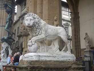 Medici lions - Vacca's lion