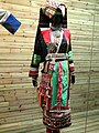 Lisu woman embroidered dress - Yunnan Nationalities Museum - DSC04306.JPG