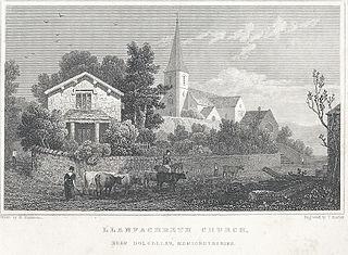 Llanfachreth Church: near Dolgellau: Merionethshire