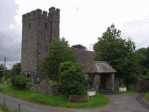 Llanfair-ar-y-bryn - The original parish church of Llanfair-ar-y-bryn