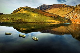 Snowdonia - Llyn y Dywarchen, near Rhyd Ddu