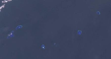 Ảnh vệ tinh một phần cụm Loại Ta do NASA chụp