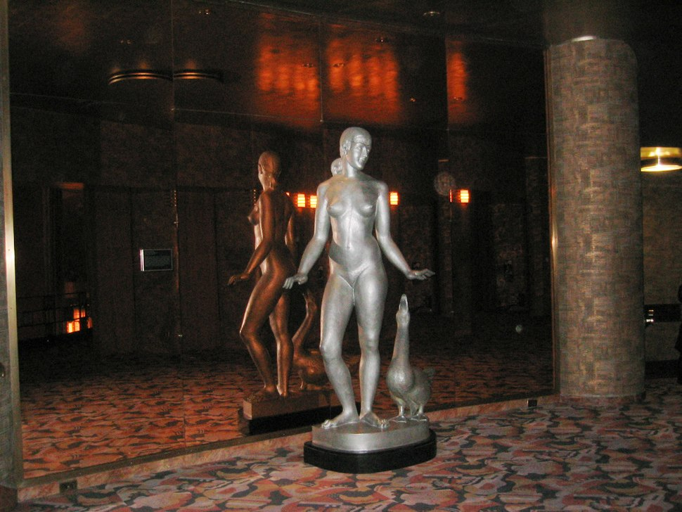 Lobby statue RCMH