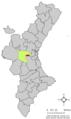 Localització de Godelleta respecte del País Valencià.png