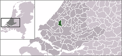 Location of Delft
