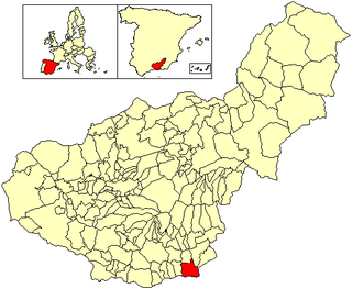 Albuñol Municipality in Andalusia, Spain
