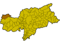 Location of Graun im Vinschgau (Italy).png