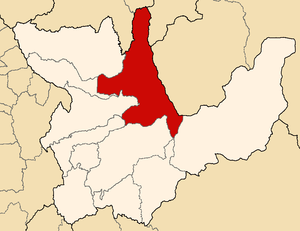 Leoncio Prado Province - Image: Location of the province Leoncio Prado in Huánuco