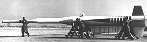 Lockheed X-17 horizontal