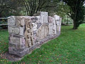 Lockside Sculpture, Caldon Canal, Stockton Brook, Staffordshire - geograph.org.uk - 597415.jpg