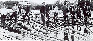 Bis 1990 wurde auf dem Fluss geflößt