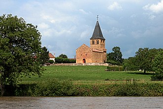 Baugy, Saône-et-Loire - Image: Loire baugy kirche b