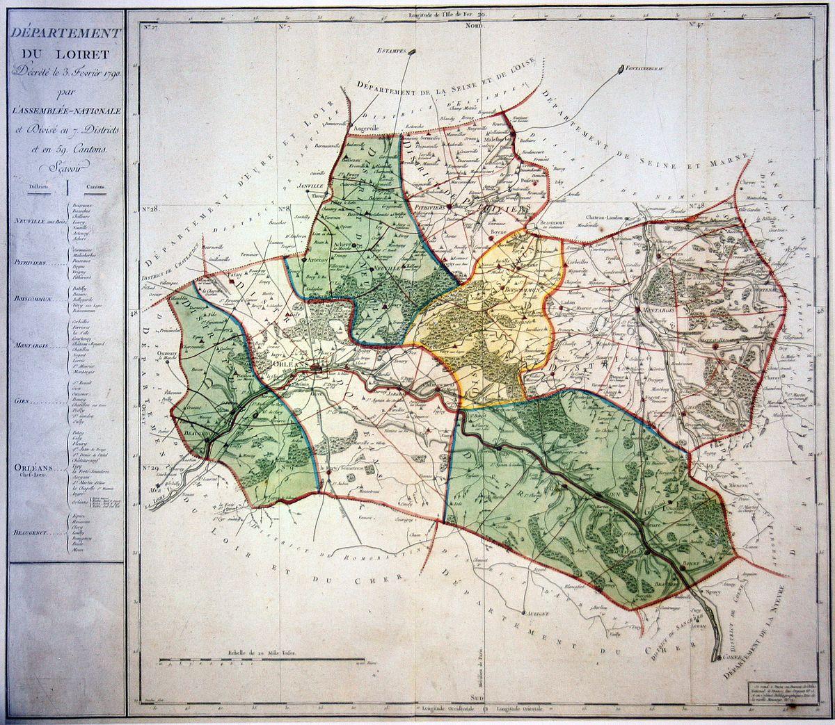 District de boiscommun wikip dia for Region loiret