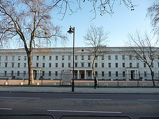 Wellington Barracks barracks of the British Army in Westminster, London