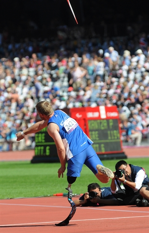 Athletics at the 2012 Summer Paralympics – Men's javelin throw - Image: London Paralympic Games 2012 by Ilgar Jafarov 2