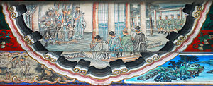 Liu Bei - Liu Bei declares himself king, portrait at the Long Corridor of the Summer Palace, Beijing