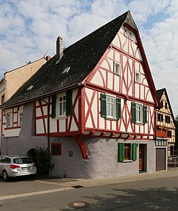 Bleichstraße in Lorch