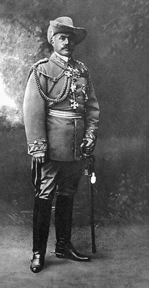 Herero and Namaqua genocide - Lieutenant General Lothar von Trotha