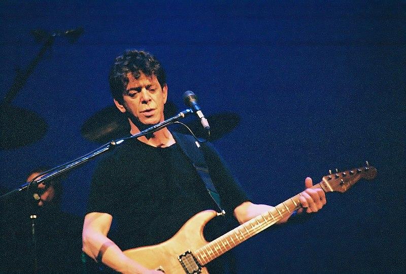 Lou Reed en concierto. Fuente: wikipedia