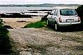 Loughros Peninsula - Car parked at Trabane Beach - geograph.org.uk - 1353005.jpg