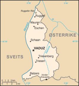tyskland østerrike sveits kart Liechtenstein – Wikipedia tyskland østerrike sveits kart
