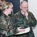 Lt. Gen. James B. Peake at Fort McCoy 9 April 2003.jpg