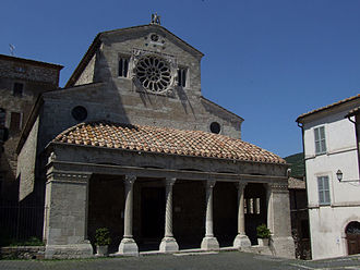 Lugnano in Teverina - Church of Santa Maria Assunta.