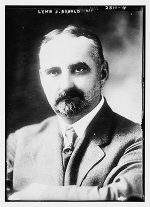 Lynn John Arnold - Image: Lynn J. Arnold, ca. 1915
