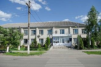 Liubotyn - Image: Lyubotyn City Council (01)