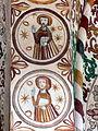 Møgeltønder Kirke - Fresco Chorbogen.jpg
