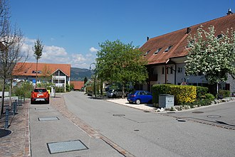 Münchwilen, Aargau - Image: Münchwilen AG 1
