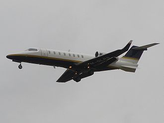 Learjet 45 - Isle of Man registered Learjet 45