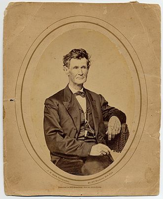 M. F. Stephenson - Stephenson pictured between 1857 and 1860
