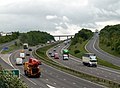 M1 South from Dennington Lane Bridge - geograph.org.uk - 435256.jpg