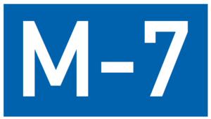 Azerbaijan–Turkey border - Image: M7 AZ