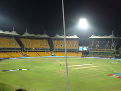 MA Chidambaram Stadium in the Night.JPG