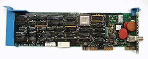 Micro Channel architecture - 16-bit Network Interface Card IBM 83X9648.
