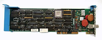 Micro Channel architecture - IBM 83X9648 16-bit Network Interface Card