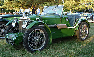 MG C-type - Image: MG C type front left