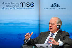 Wolfgang Ischinger - Wolfgang Ischinger at the 50th Munich Security Conference, 2014